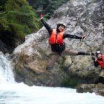 【キャニオニング・シャワークライミング】気分はすっかり忍者!?忍者の水術を体験!
