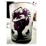 【熊本・八代市・サンドブラスト】ガラスを自由にデザイン!ロンググラス作り